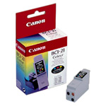 Genuine OEM Canon BCI-21 (BC-21C) Tri-Color Ink Tank