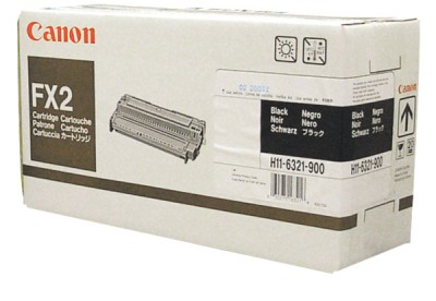 Genuine OEM Canon 1556A002BA (FX-2) Black Toner Cartridge (4000 page yield)