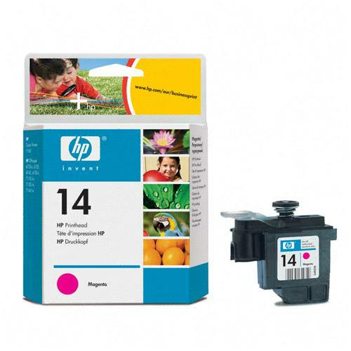 Genuine OEM HP C4922A (HP 14) Magenta Inkjet Cartridge Printhead (8 ml)
