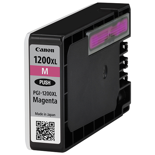 Premium Quality High Capacity Magenta Inkjets compatible with the Canon (PGI-1200xl M) 9197B001