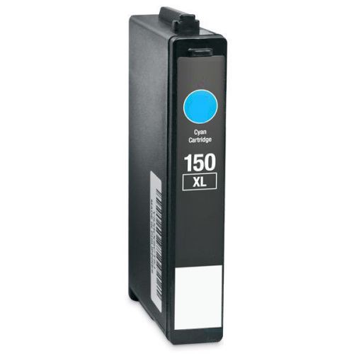 Premium Quality High Capacity Cyan Inkjet Cartridge compatible with the Lexmark (Lexmark #150XL) 14N1615