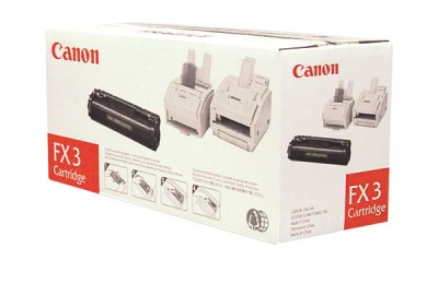 Genuine OEM Canon 1557A002BA (FX-3) Black Toner Printer Cartridge (2700 page yield)