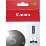 Genuine OEM Canon 0628B002 (PGI-5BK, Canon 5) Pigment Black Inkjet Cartridge