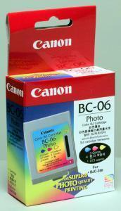 Genuine OEM Canon BC-06 (BC06) Color Photo Cartridge