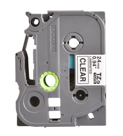 Premium Quality  Black on Transparent   P-Touch Label Tape compatible with the Brother (TZ151) TZe151