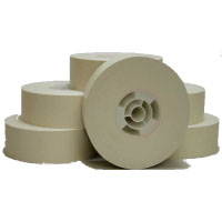 Premium Quality Black Gummed Tape Rolls compatible with the Pitney Bowes 627-2