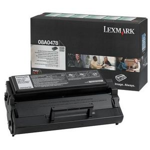 Premium Quality Black Laser/Fax Toner compatible with the Lexmark 08A0478 (6000 page yield)